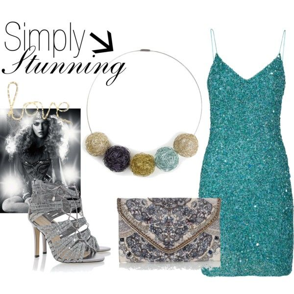 """Simply Stunning!"" by mymagnifico.com on Polyvore"