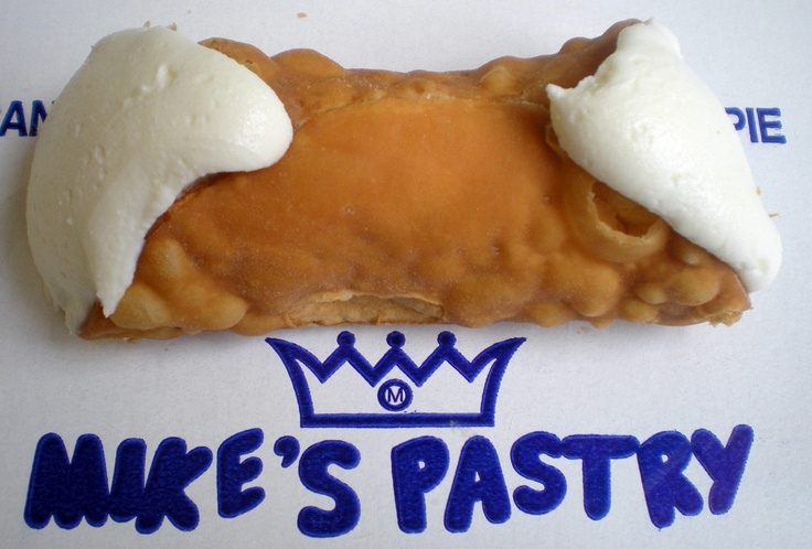 Mike's Pastry Must go to Mikes Pastry in the North-End of Boston