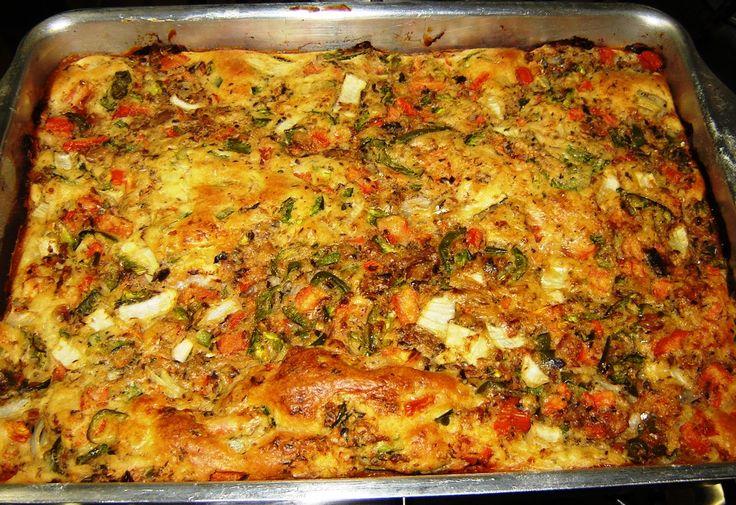 Aprenda a preparar a receita de Torta de sardinha