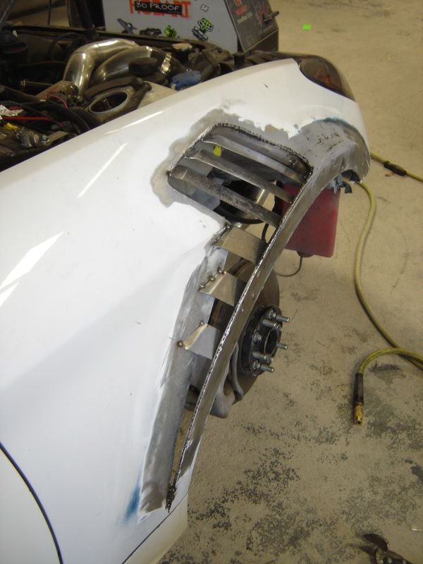Custom Metal Fabrication Fender Flair Cars Pinterest