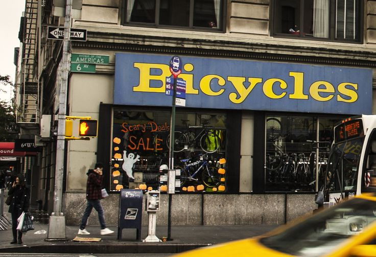 Bike shop in central NYC