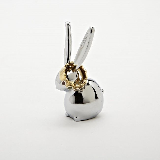 Keep your jewelry organized and easy to see with the Umbra Zoola Bunny Ring Holder.