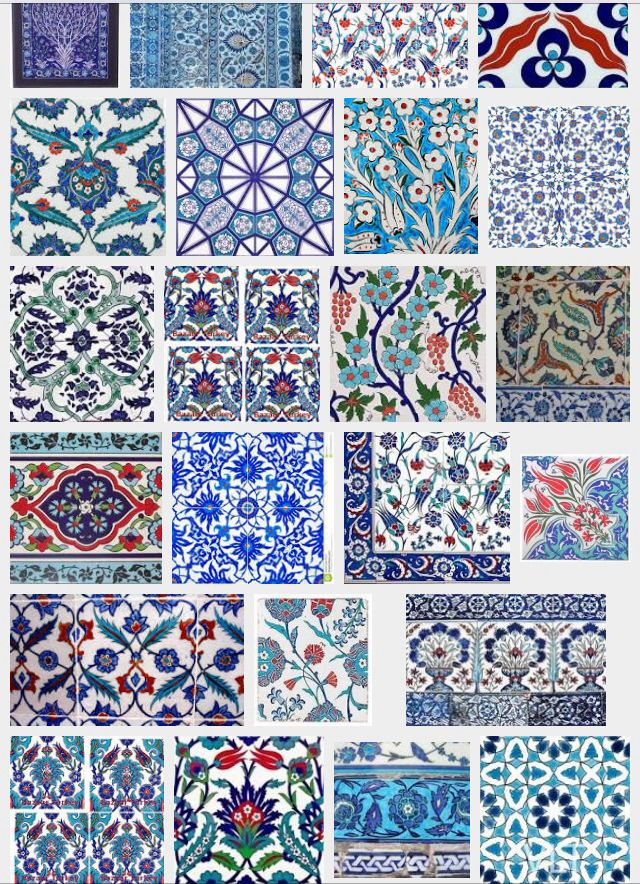 Turkish tiles More