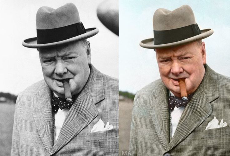 Famous B&W Photos Turned into Color by a 21-Year-Old Whiz #Photoshop