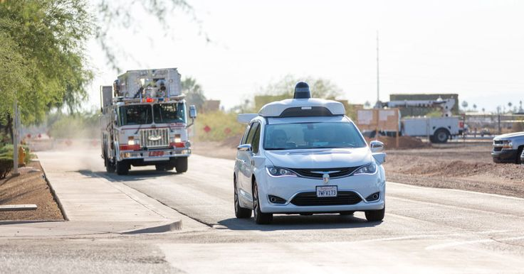 """""""Waymo has begun training its autonomous Chrysler minivans to be able to recognize what [emergency vehicles] look and sound like in real life situations."""""""