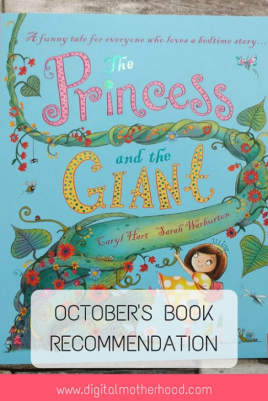 October Book Recommendation - The Princess and The Giant