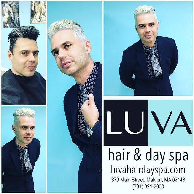 From dark to light! Platinum hair done by LUVA's Hairstylist Frankie Dias. Looking for new Summer look call 781.321.2000 or text 857.415.9430 #hair #massage #skincare #manicure #pedicure  http://www.luvahairdayspa.com/ Walk-Ins welcome. With Yelp app on your smartphone you get 5% Off on any appointment. http://www.yelp.com/biz/luva-hair-and-day-spa-malden #beauty #loveit #good #special #luvahairdayspa #oneplacebetteryou #yelp #LUVArt #spa #platinumblonde #summer #makeover #fun #cute #love…