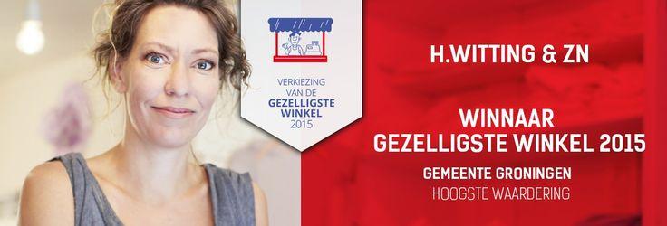 Uitslag van de Verkiezing van de Gezelligste Winkel 2015 : H.Witting & Zn Hoeden Petten Modeaccessoires is winnaar als de beste winkel van de gemeente #Groningen met het hoogste gemiddelde cijfer  https://www.facebook.com/wittinghoeden/photos/a.445983358745697.104981.354689534541747/1098517140158979/?type=3&theater