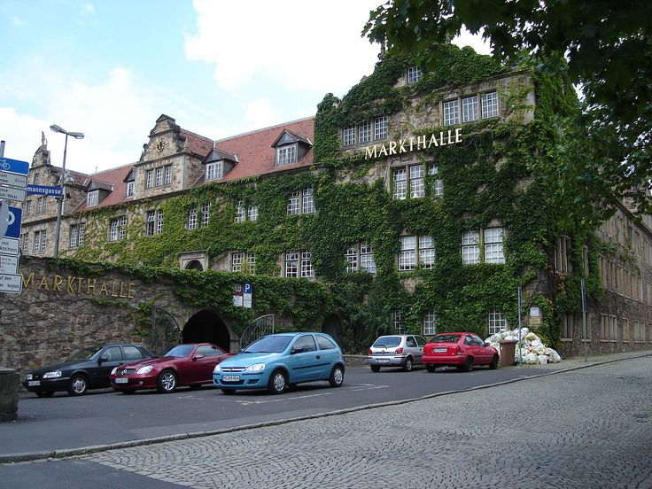 Kassel : The Marstall now houses the Markthalle and the Stadtarchiv Kassel