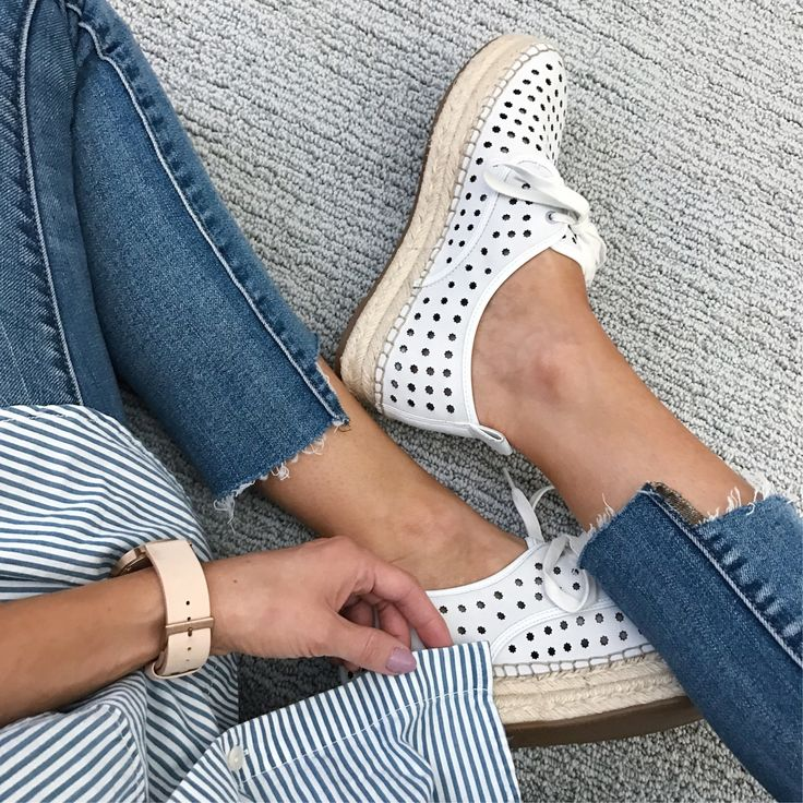 Merrick's Art Perforated Espadrille Sneakers