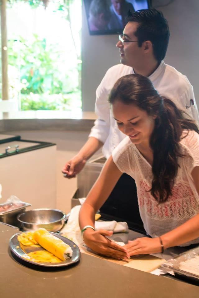 Мастер-класс по приготовлению вкуснейших суши от #ГрандВеласРивьераМайя! http://rivieramaya.grandvelas.com/russian/