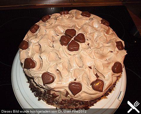 Milka - Torte, ein tolles Rezept aus der Kategorie Torten. Bewertungen: 40. Durchschnitt: Ø 4,3.