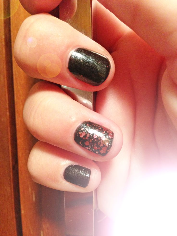 #chocolate covered cherry #nails
