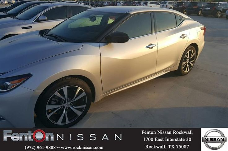 This is a used Nissan Maxima 3.5. low miles only 17 thousand. Low miles great price  http://deliverymaxx.com/DealerReviews.aspx?DealerCode=V432  #rockwall #nissan #maxima #fenton #3.5 #FentonNissanofRockwall