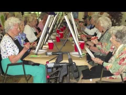 Spirits and Splatters Seniors Video
