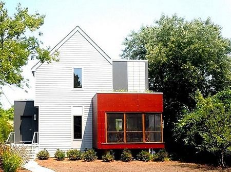 198 best usgbc homes images on pinterest green homes for Leed certified house