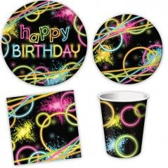 Glow Party Mini Party Packs (For 8 Guests)