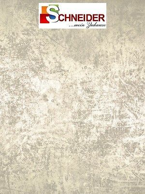 Marburger Tapeten - La Veneziana 2 - Tapete MR 53132 - Uni Muster Beige Gold