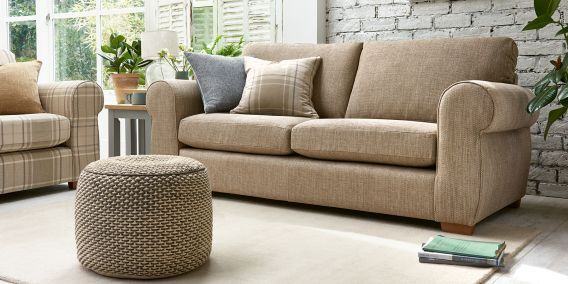 Buy Marseille Occasional Sofa Bed - Medium (2 People) Boucle Weave Dark Grey Small Slim Block - Light from the Next UK online shop