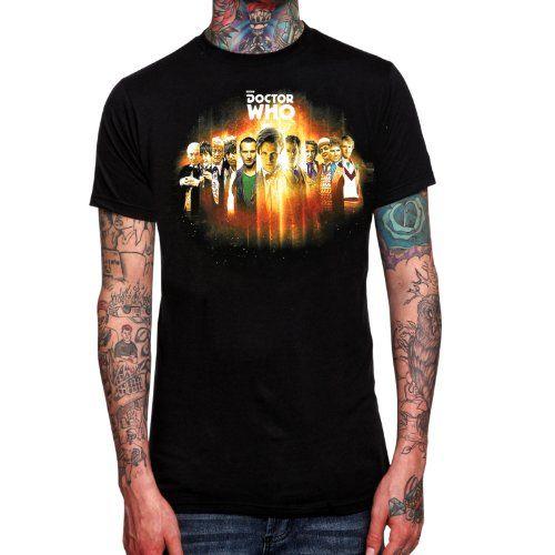 Doctor Who - Camiseta de los 11 doctores #regalo #arte #geek #camiseta