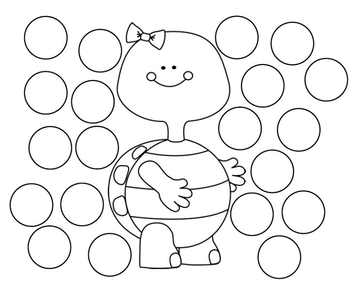8 best do a dot paint daubers images on pinterest do a for Dot art coloring pages