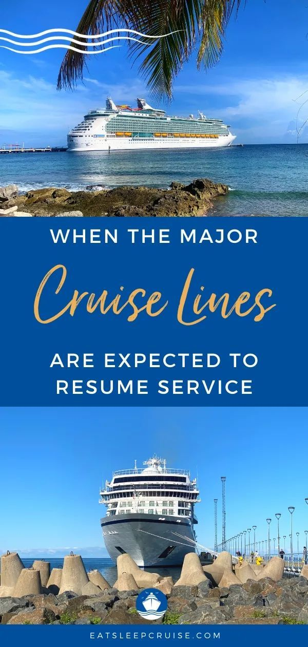 When All The Cruise Lines Are Expected To Resume Service Eatsleepcruise Com In 2020 Western Caribbean Cruise Eastern Caribbean Cruises Cruise Planning