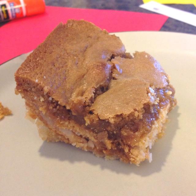 Blondie Slutty Brownies!(: | Desserts to try | Pinterest