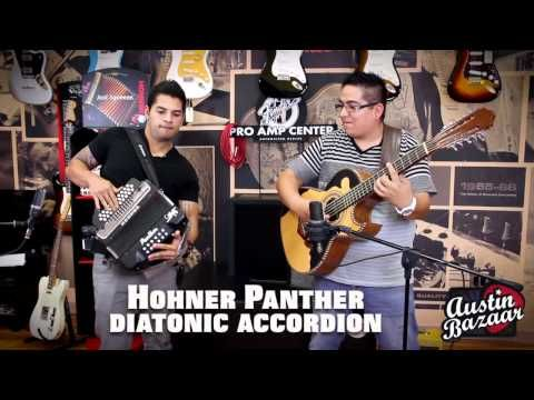 ▶ Hohner Panther Accordion demo with AJ Castillo [Subtítulos en Español] - YouTube
