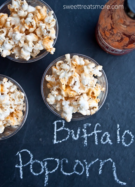 Buffalo Popcorn.  Perfect football food!