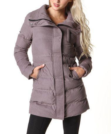 Look at this #zulilyfind! Moondusk Wintertide Puffer Coat by Colosseum #zulilyfinds