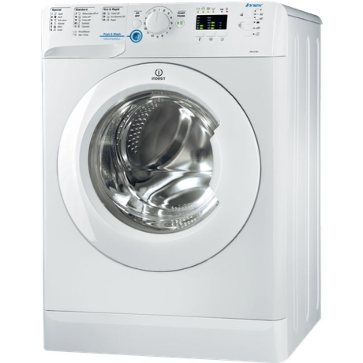 8kg Frontloading Washing Machine by Indesit (XWA 81283XW AUS)  Another great product from Indesit. This popular 8KG Front Loader is packed with all the essential features you need. Great price, great product. What more could you want?