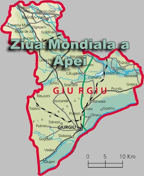 Ziua Mondiala a Apei sarbatorita in localitatea Comana, judetul Giurgiu