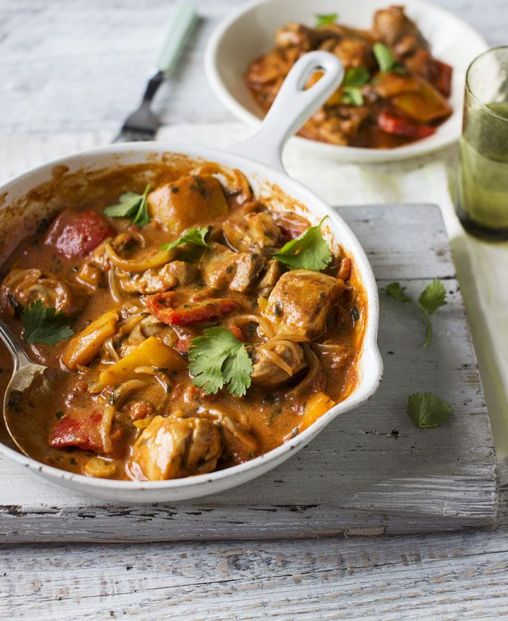 A healthy chicken and vegetable balti that's quick and easy to prepare