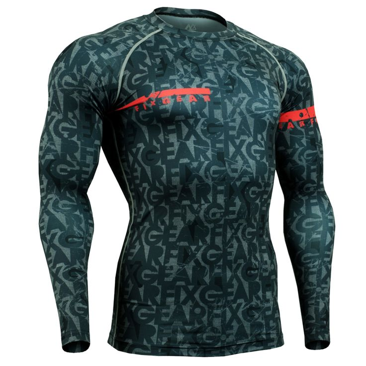 FIXGEAR Technical Compression Shirts Fitness & Exercise Base Layer Tights Weightlifting Bodybuilding GYM MMA Tops Shirt for Men-in T-Shirts from Men's Clothing & Accessories on Aliexpress.com | Alibaba Group