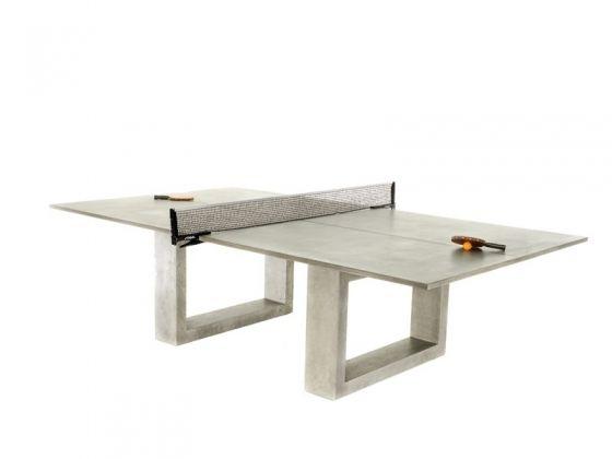 Table de Ping-Pong en béton - James de Wulf