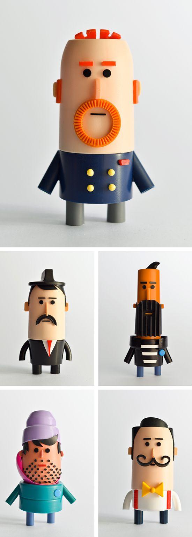 Olivier Goka - Costume 3 Pieces - Illustration | Small for Big