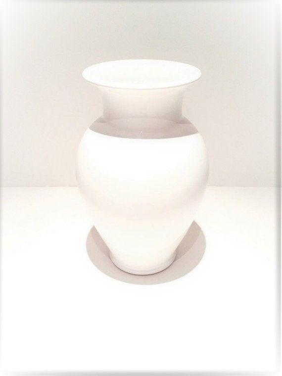 Ceramic Vase Vase White Vase White Flower Vase Tall Floor Vase