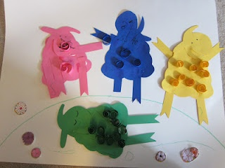 Such a great little activity to go along with one of our favorite books - Where is the Green Sheep?