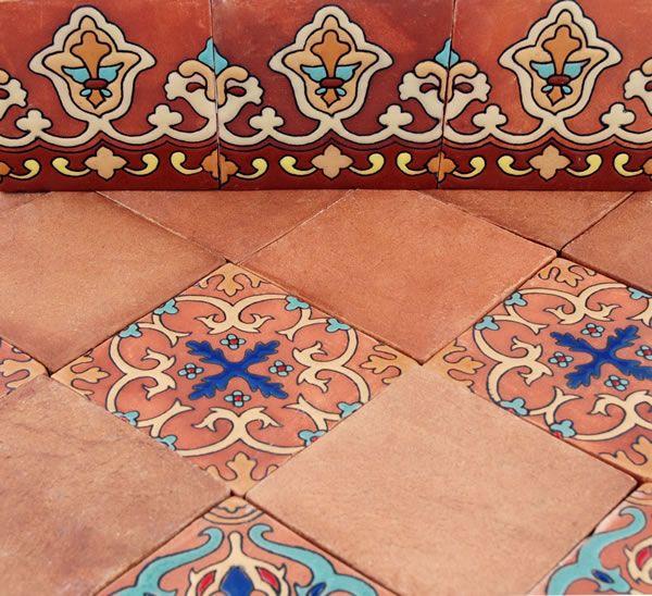 Mexican tile flooring designs maison design Cheap mexican tile
