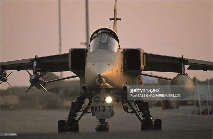 JP.Chevenement + Jaguar of Frech air in Al Ahsa, Saudi Arabia on January 19…