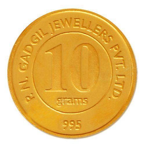 24 carat 10 gm Gold Coin (995) online deal
