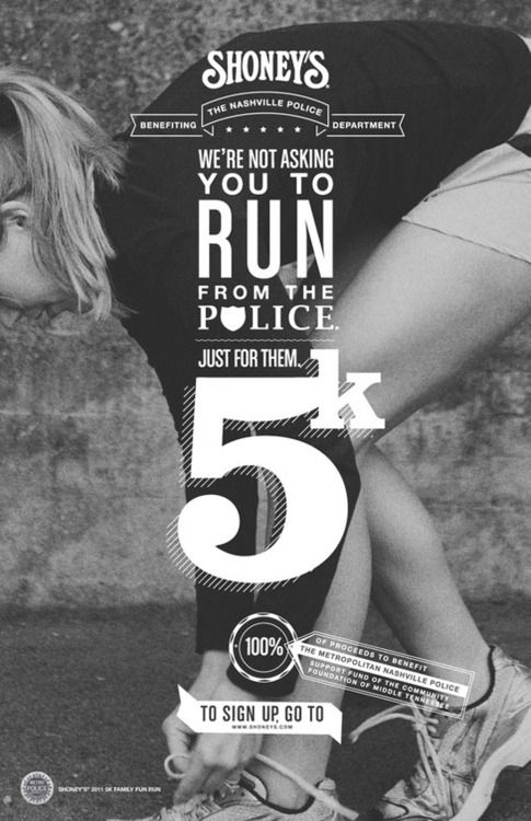 We Are Not Asking You to Run from The Police ! » Design You Trust – Design Blog and Community