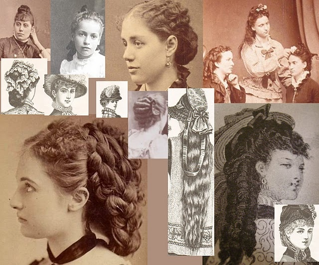 Victorian/Edwardian Hair Styles - A True Victorian/Edwardian Tea Lover's Corner
