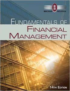 fundamentals of Financial Management 14th Edition Brigham Houston solutions manual test bank