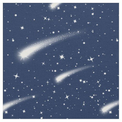 Meteor Shower Shooting Star Fabric By The Yard Meteor Shower Shooting Stars Fantasy Castle