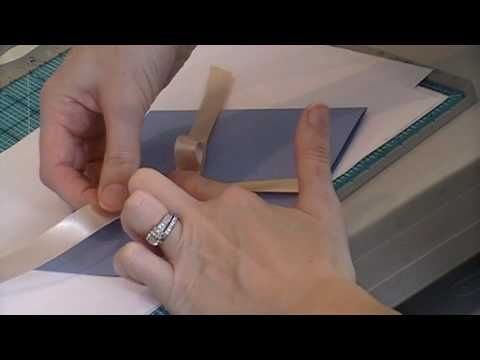 ▶ Ribbon Tying --Bows & Flat Knots - YouTube  For my gals here is the video for tying knots and bows :)