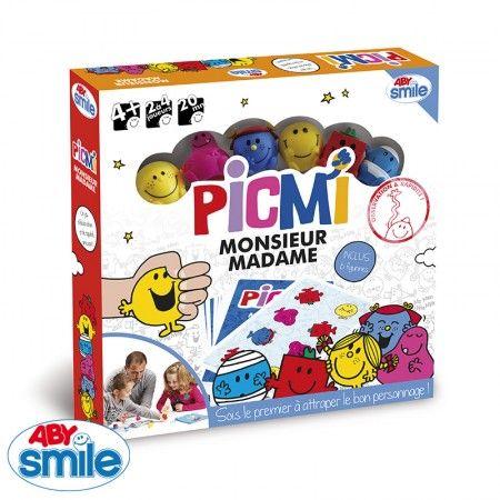 Jeu de plateau Monsieur Madame Picmi