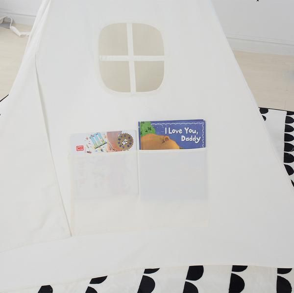Pockets with Teepees--Kids Teepee -- A space to imagine anything is possible
