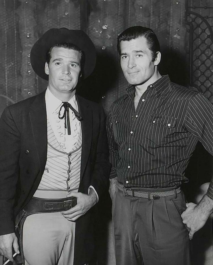 James Garner and Clint Walker/ I admire both these old cowboys.