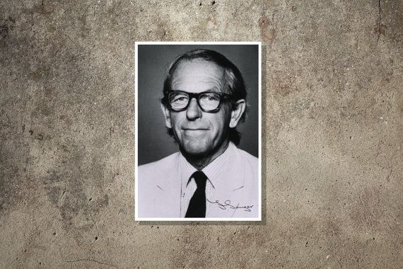 Science art - Frederick Sanger - Super Stars of Science poster series